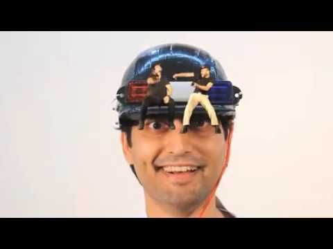 Funny VIP helmet discovered in 2016
