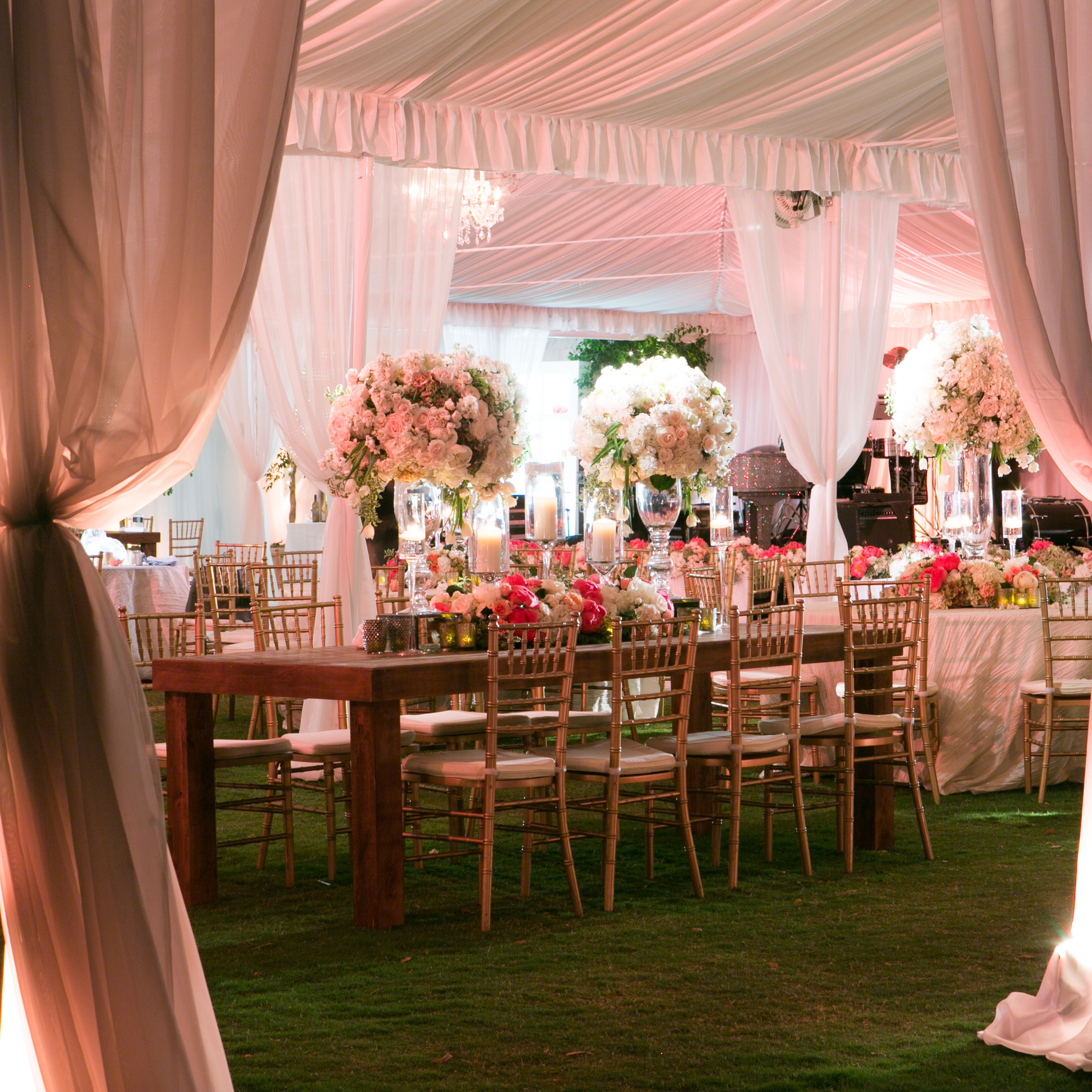 Tent at end of reception | Weddings - Tented | Pinterest | Event ...