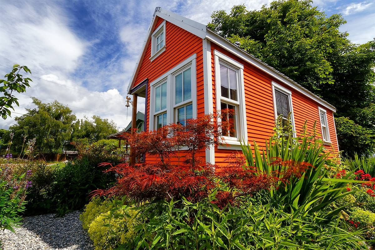 Exterior Free Building Plan Small House Catalog Small House Tiny House Movement