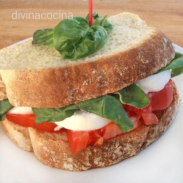 recetas de sndwiches y bocadillos divina cocina categora sandwiches y bocadillos divina - Divina Cocina