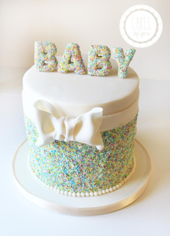 Baby Shower Cake By Cakes By Lynzie Cakes Cake Decorating