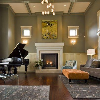Grand piano in living room. | Piano | Pinterest | Grand pianos ...