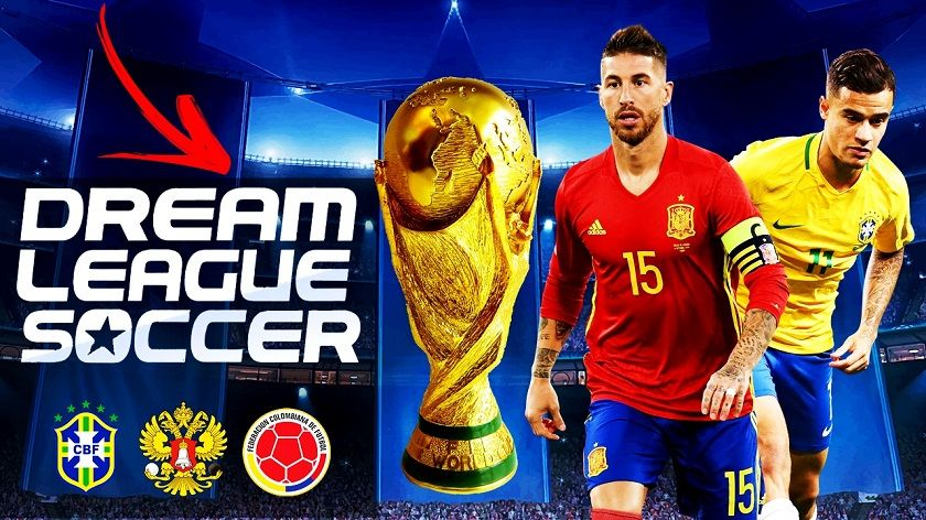 Dream League Soccer 2018 World Cup Russia For Android Download League World Cup Soccer