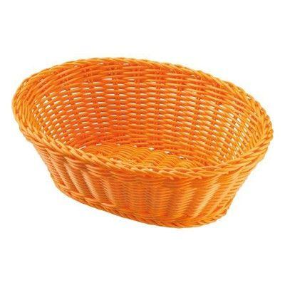 Korb oval, orange