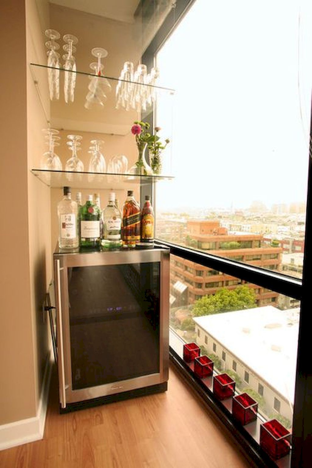 Top 50 Mini Bar Ideas For Your Home Corner In 2020 Balcony Bar