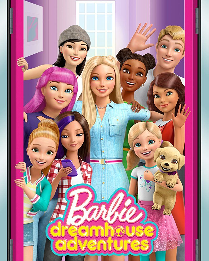 Barbie Dreamhouse Adventures Official Poster Aniversario Da