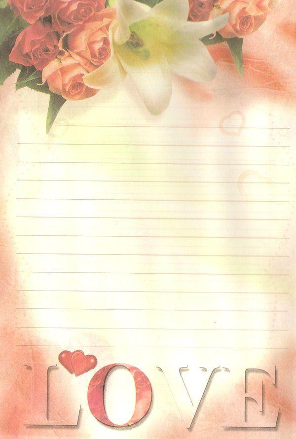 صور اوراق حب للكتابة عليها Love Letter Papel De Carta Carta Papel Para Impressao