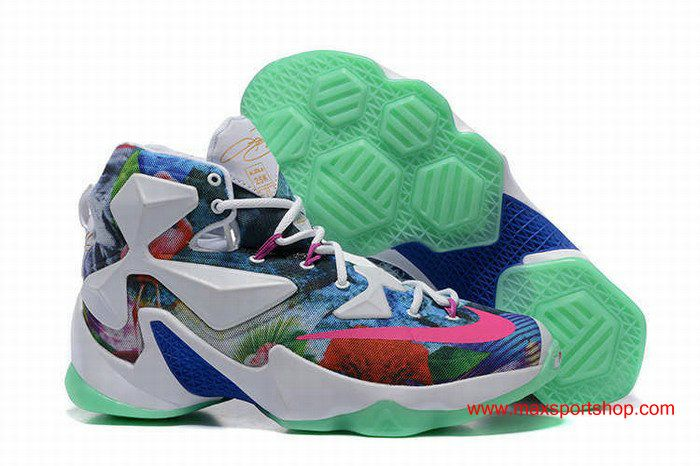 dd545140802 Nike LeBron 13 Brightly Colored Basketball Shoes