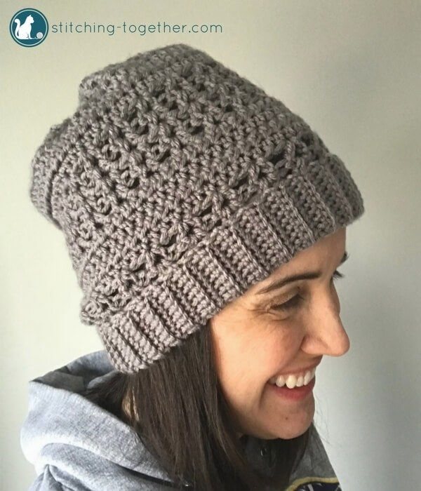 Coco Crochet Slouchy Hat | Crochet Patterns | Pinterest