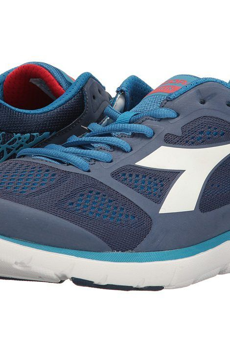 Diadora Men's X Run Saltire Navy/Assuro Bambino/White Athletic Shoe RJiag