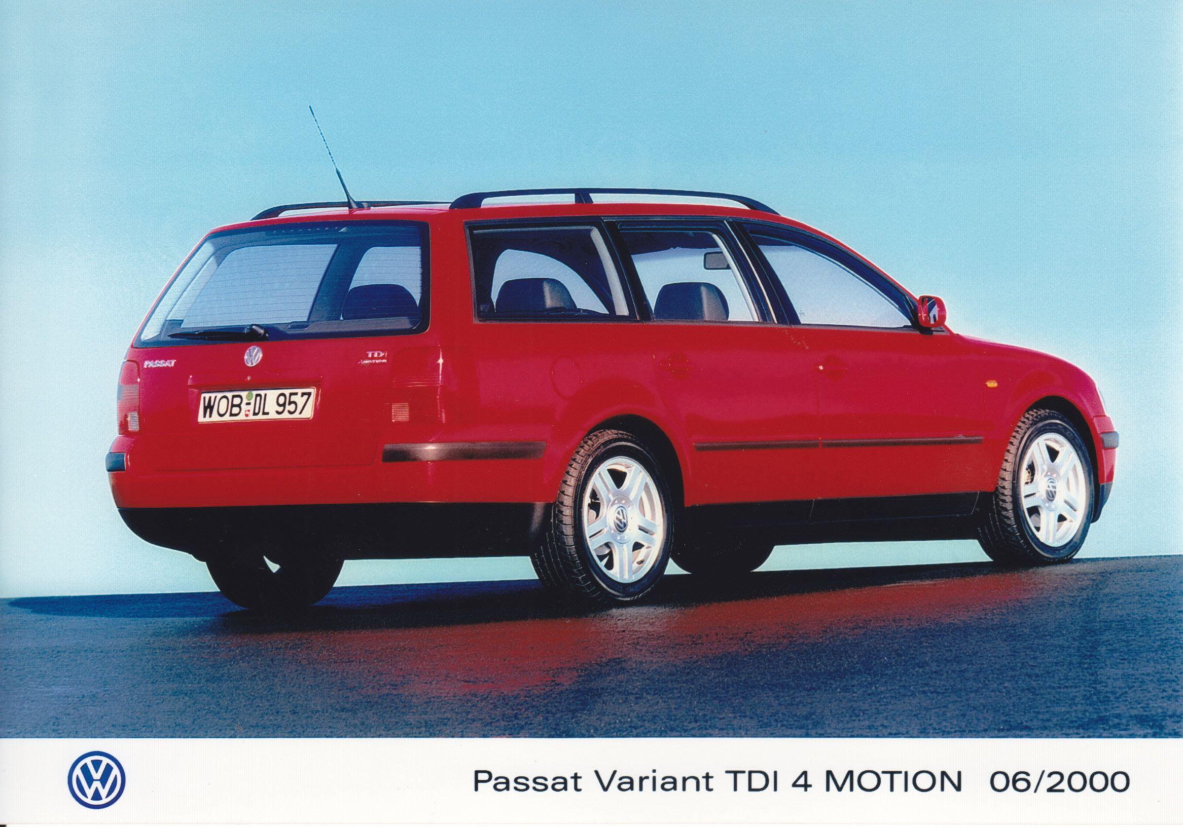 Volkswagen Passat Variant TDI 4Motion (06/2000, Italian