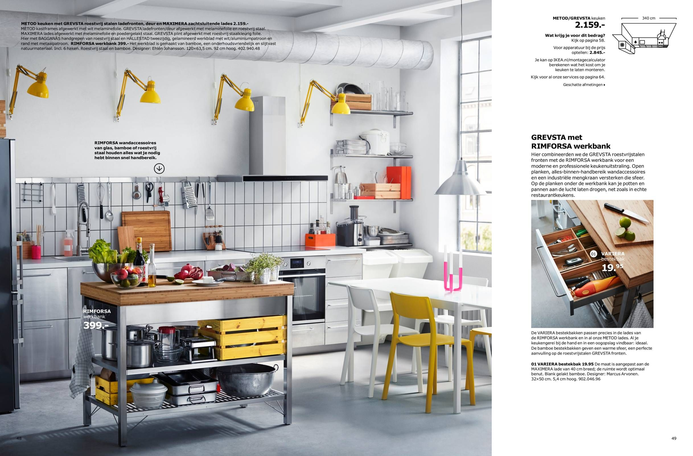 Keuken Gordijn 5 : Brochure keukens badkamer en