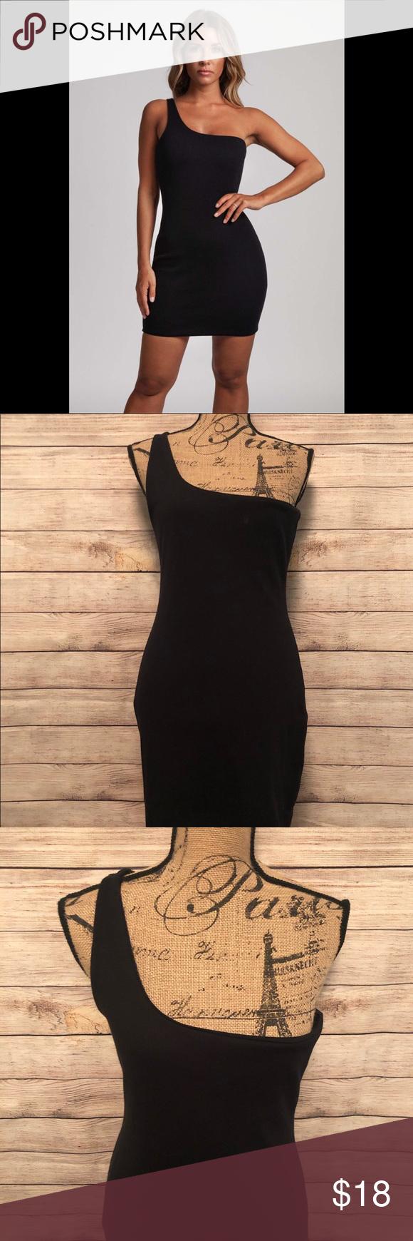 Meshki Scarlett One Shoulder Rib Mini Dress Xl Ribbed Mini Dress Mini Dress Dresses [ 1740 x 580 Pixel ]