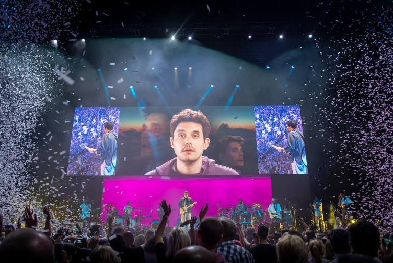 John Mayer Tour Creates Window Into The World John Mayer Tour John Mayer John Mayer Concert