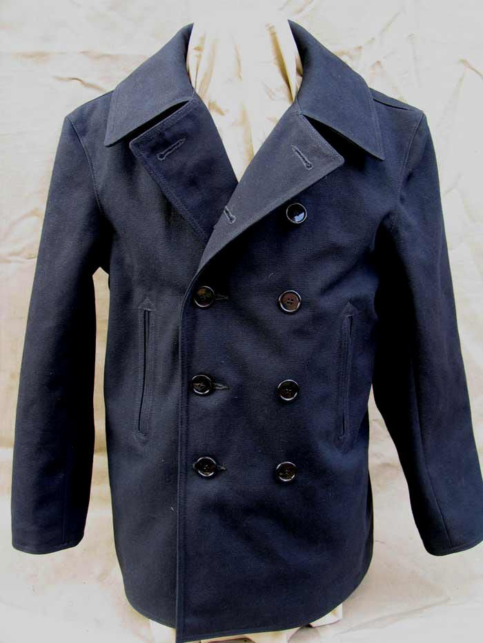 Lost Worlds' Limited Edition cotton duck Pea Coat. | Wear-ever ...