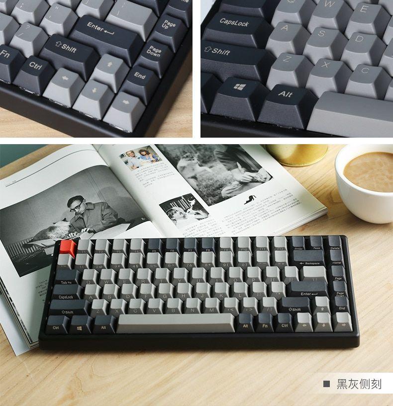Keycool 84 Mini Mechanical Keyboard Cherry Mx Switch Brown Pbt