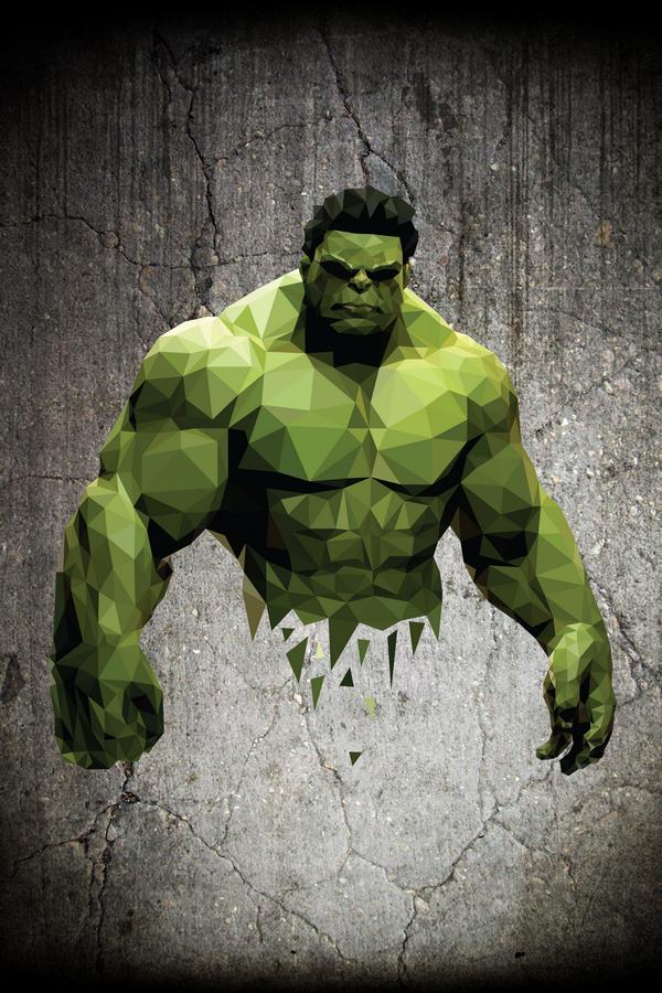 #comics #Hulk #Poly