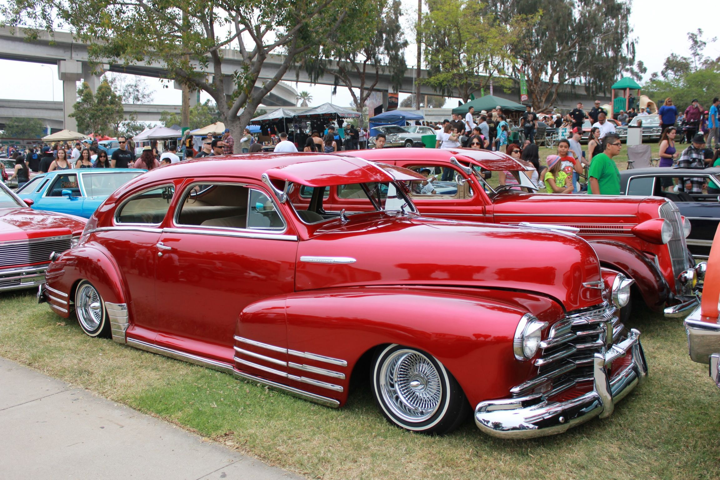Chevy Fleetline Chicano Park Day In San Diego Ca American Classic Cars Custom Cars Dream Cars