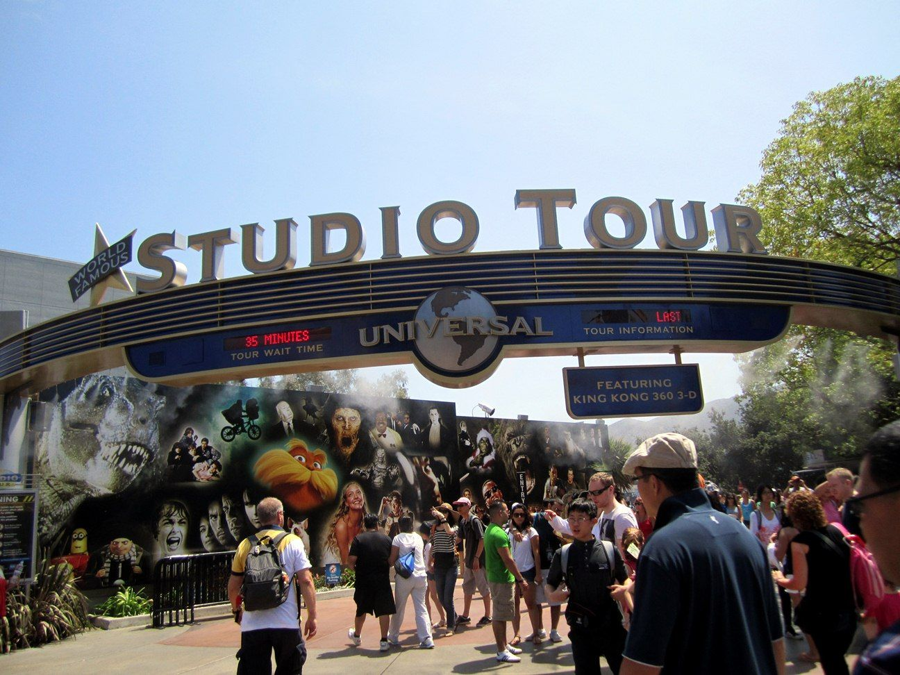 5 Best Los Angeles Tourist Attractions That You Should Visit Universal Studios Hollywood Hollywood Studio Universal Studios