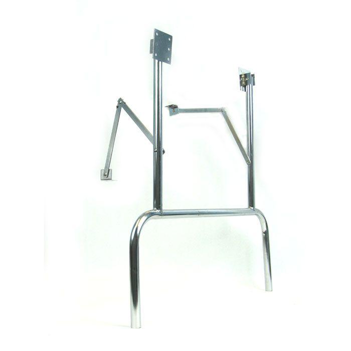 Chrome Folding Table Legs Pair Folding Table Legs Table Legs Custom Poker Tables