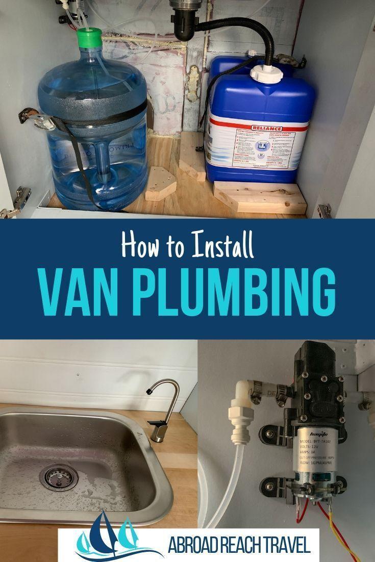 Photo of So installieren Sie die Sanitärinstallationen in Ihrem Wohnmobilumbau. Schritt …