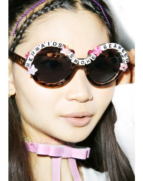 Rad and Refined Rainbow Ruler Sunglasses | Dolls Kill
