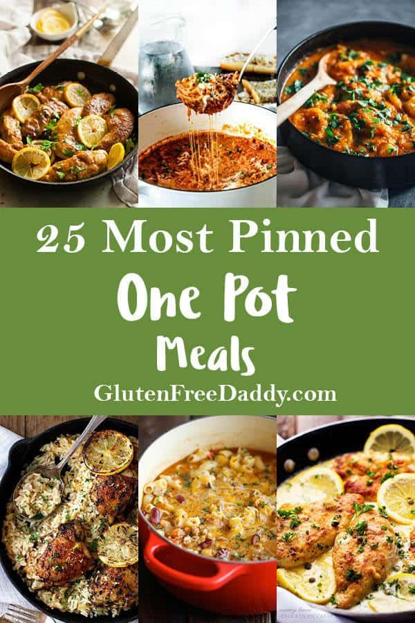 The 25 Most Pinned One Pot Meals Recipes On Pinterest