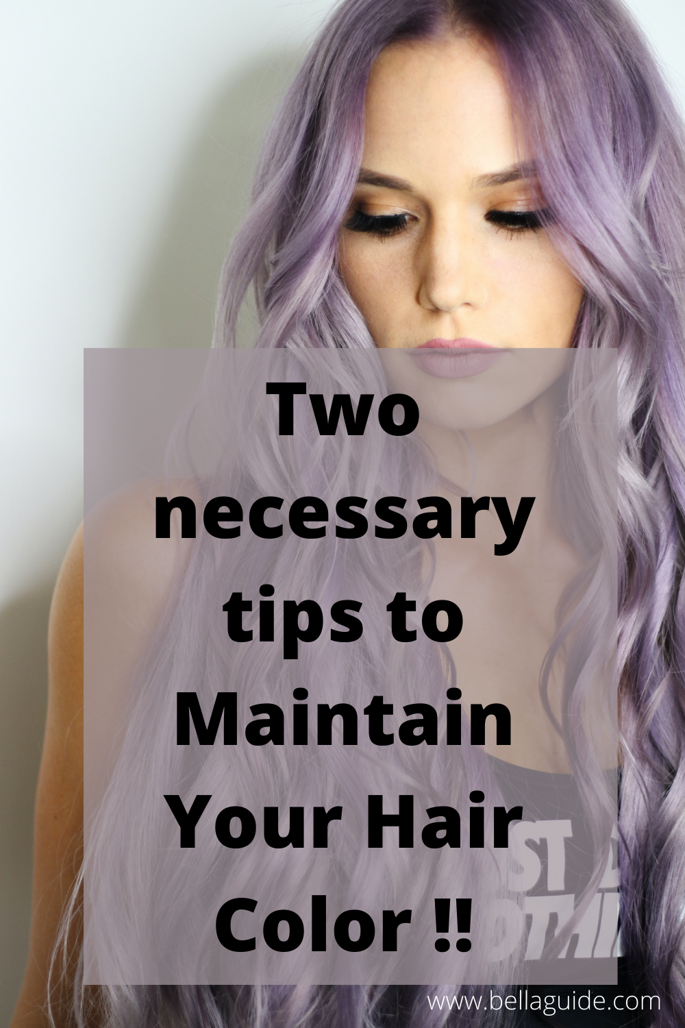 Two necessary tips to Maintain Your Hair Color !!