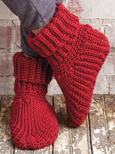 Free Crochet Pattern Download These Slipper Boots Designed By