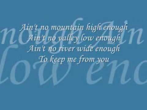 Ain T No Mountain High Enough Play Play Writer Songs