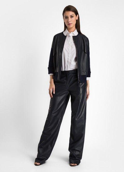 SS16 #MaisonUllens #Styles #Silhouettes # Looks #ootd #fashion #madeinItaly #madeinFrance #KimLaursen #look #style #madeinitaly #readytowear #ootd  #shirt #pants #jacket #leather #poplin #work