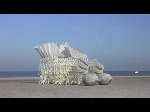 strandbeest evolution - YouTube
