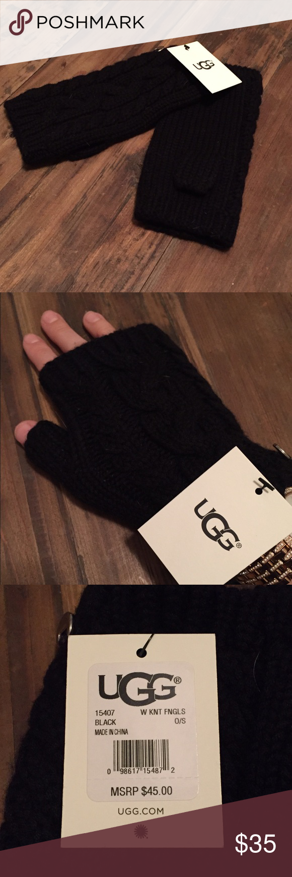 Nwt Ugg Knit Gloves Brand New With Tags Ugg Knot Gloves These