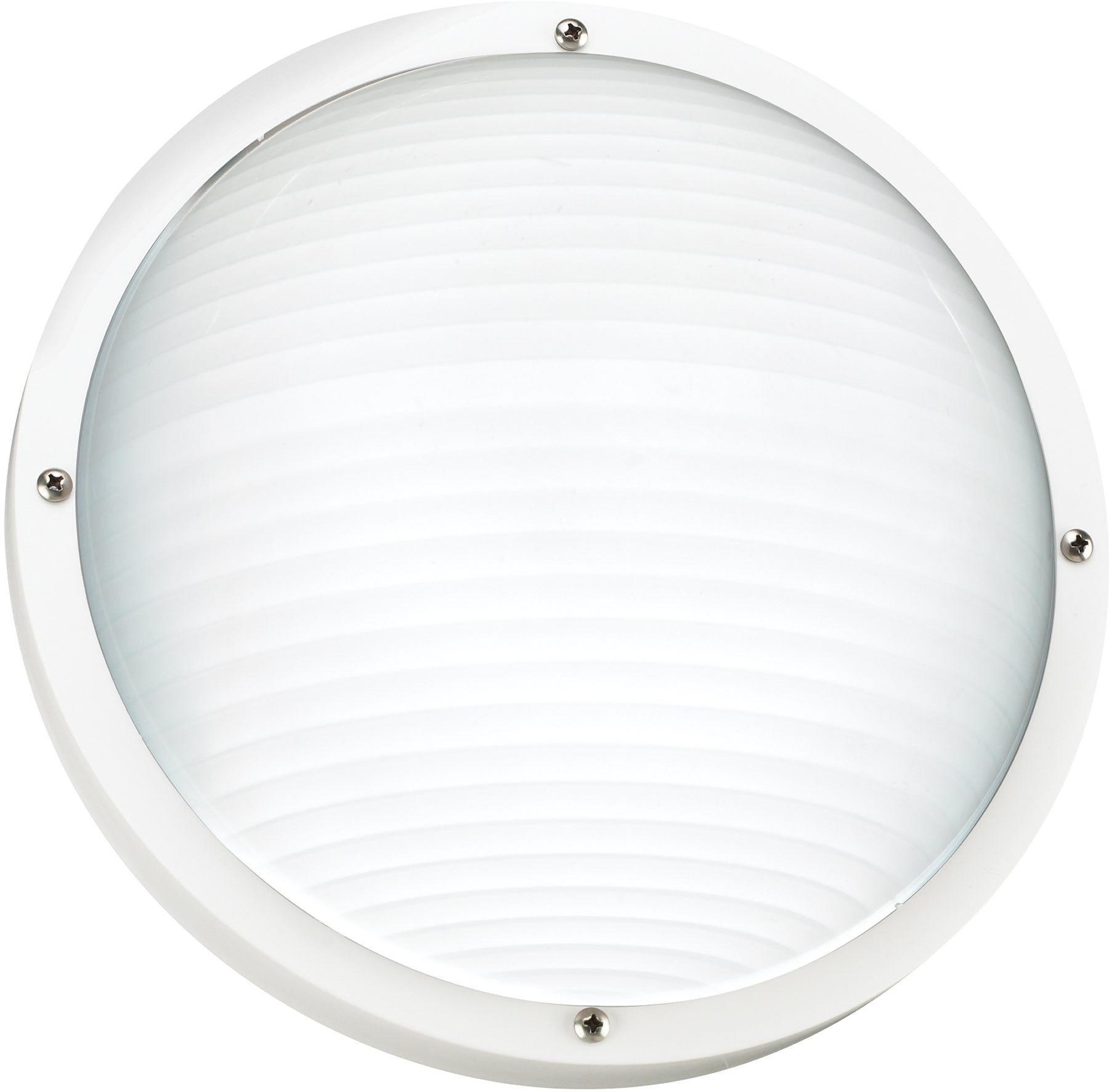 0-001245>Bayside 1-Light Energy Star Outdoor Wall Light White