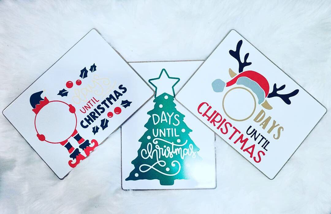 Countdown to Christmas, Days Until XMAS White Dry Erase Boards, Elf