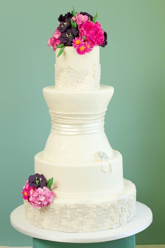 The Cake Studio Of Ocean City Beautiful Wedding Cakes Wedding