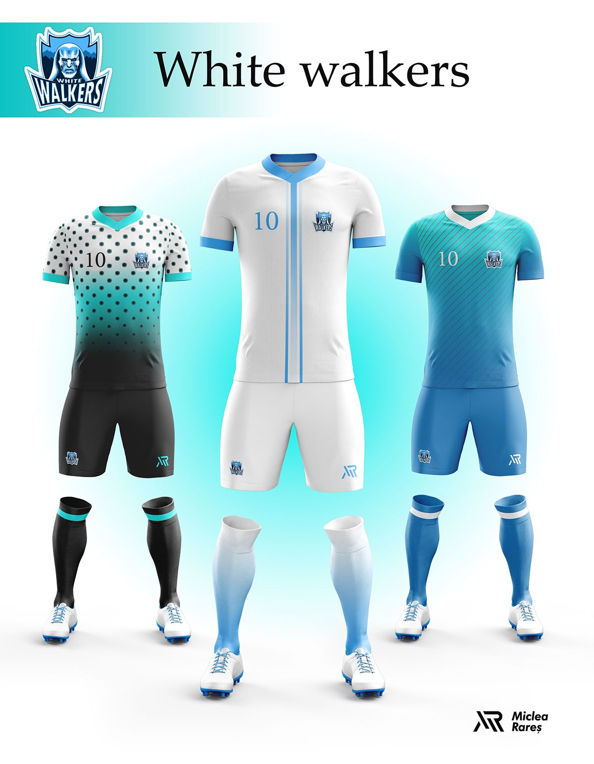 b913487e5b Concept - Game of Thrones football kits on Behance