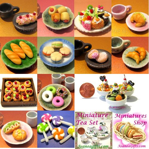 Dollhouse Miniature Food Realistic Cookies//Biscuits Mini Food Supply D