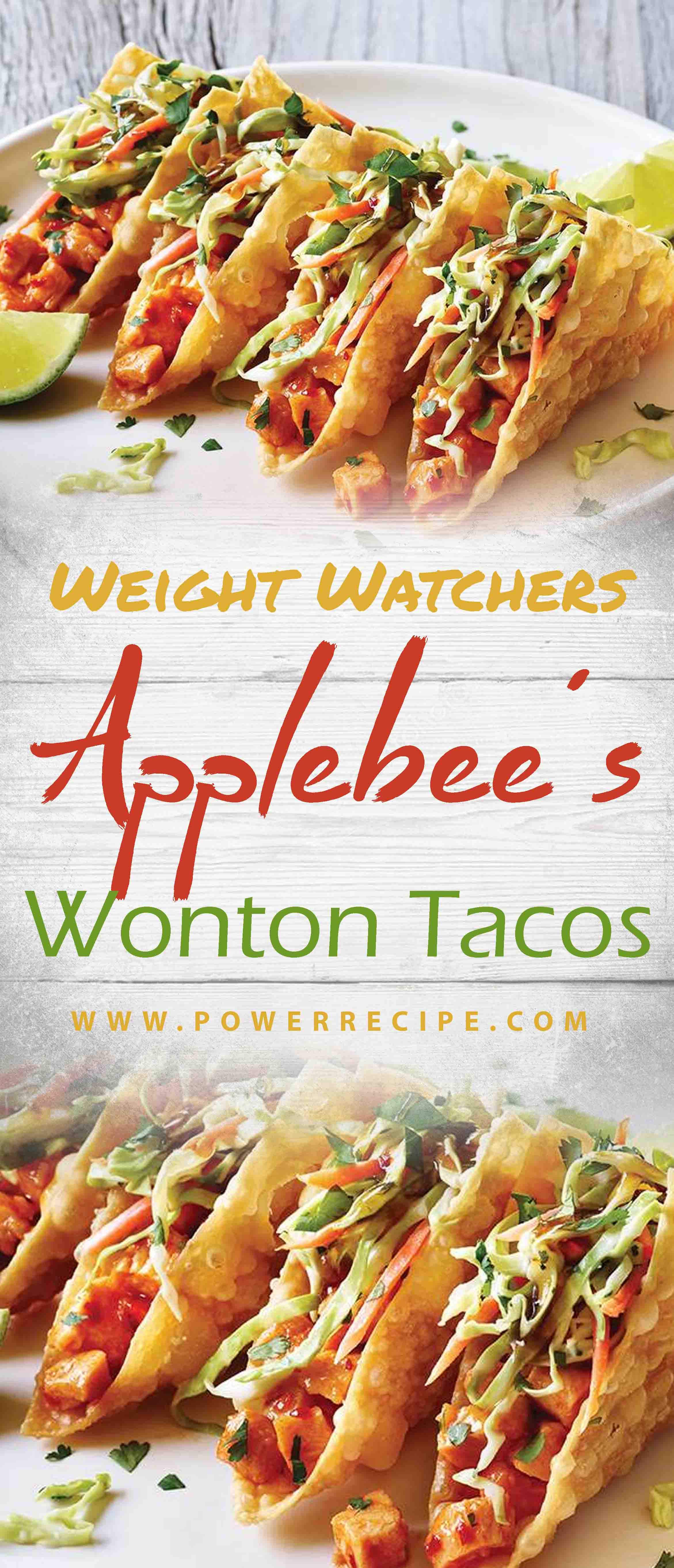 Applebee S Wonton Tacos All About Your Power Recipes Unique Recipes Recipes Food
