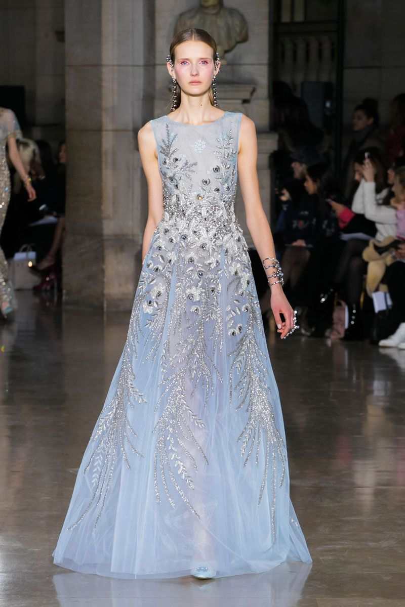 Gloriously Tinted With Spirituality And Energy, Maison Georges Hobeikau0027s  Spring Summer 2017 Haute Couture Collection Is Inspired By The Creators Of