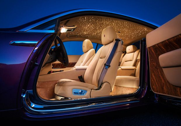 This Rolls Royce Ghost Wraith Has A Fiber Optic Star Roof Panel Sorry Your Car S