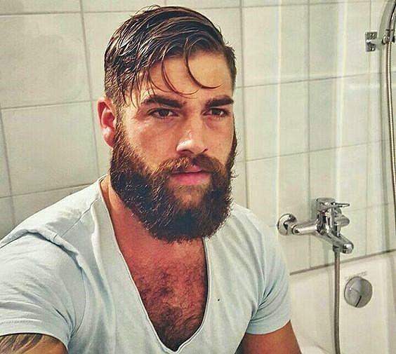 Pin de Robb L en Guys with Beards Pinterest Peinados - peinados hombre