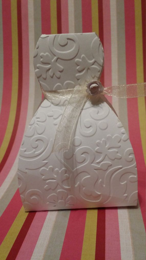 Box Measures Approximately 3 Inches This Dress Bridal Favor Box Is
