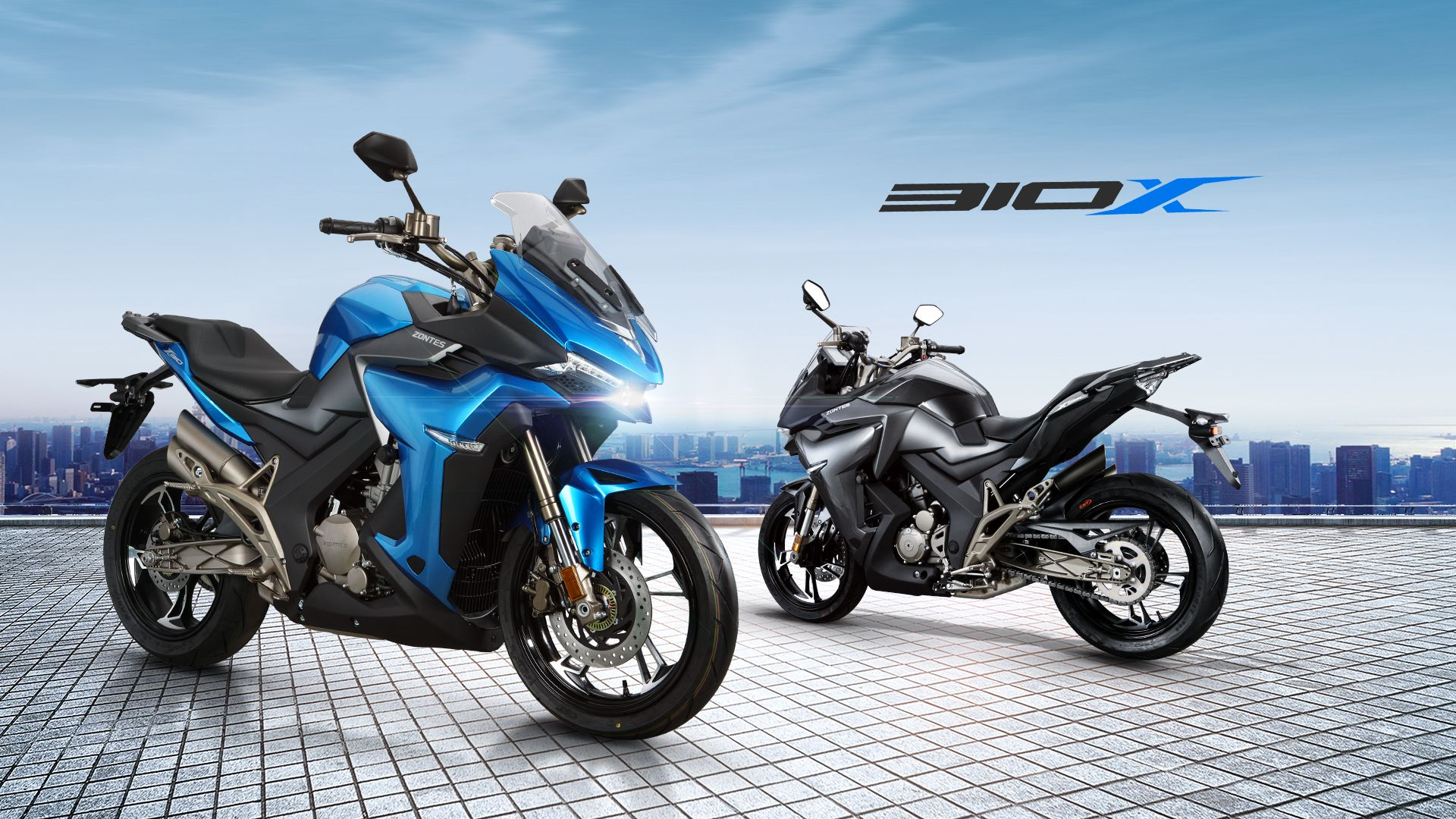 Zontes 310x Fuel Efficient Electric Motorcycle Sport Bikes