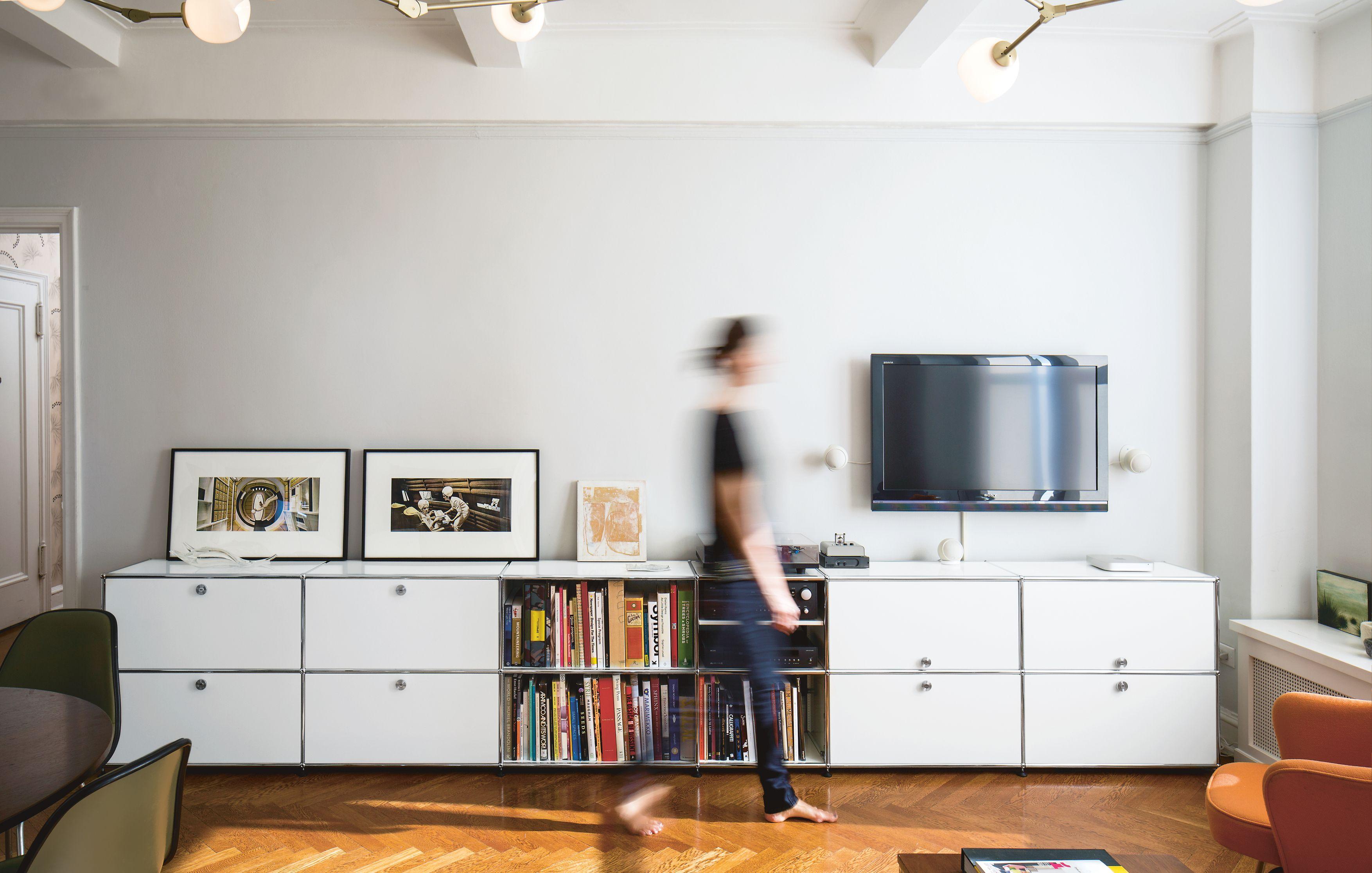 Sideboard Wohnzimmer Dekorieren