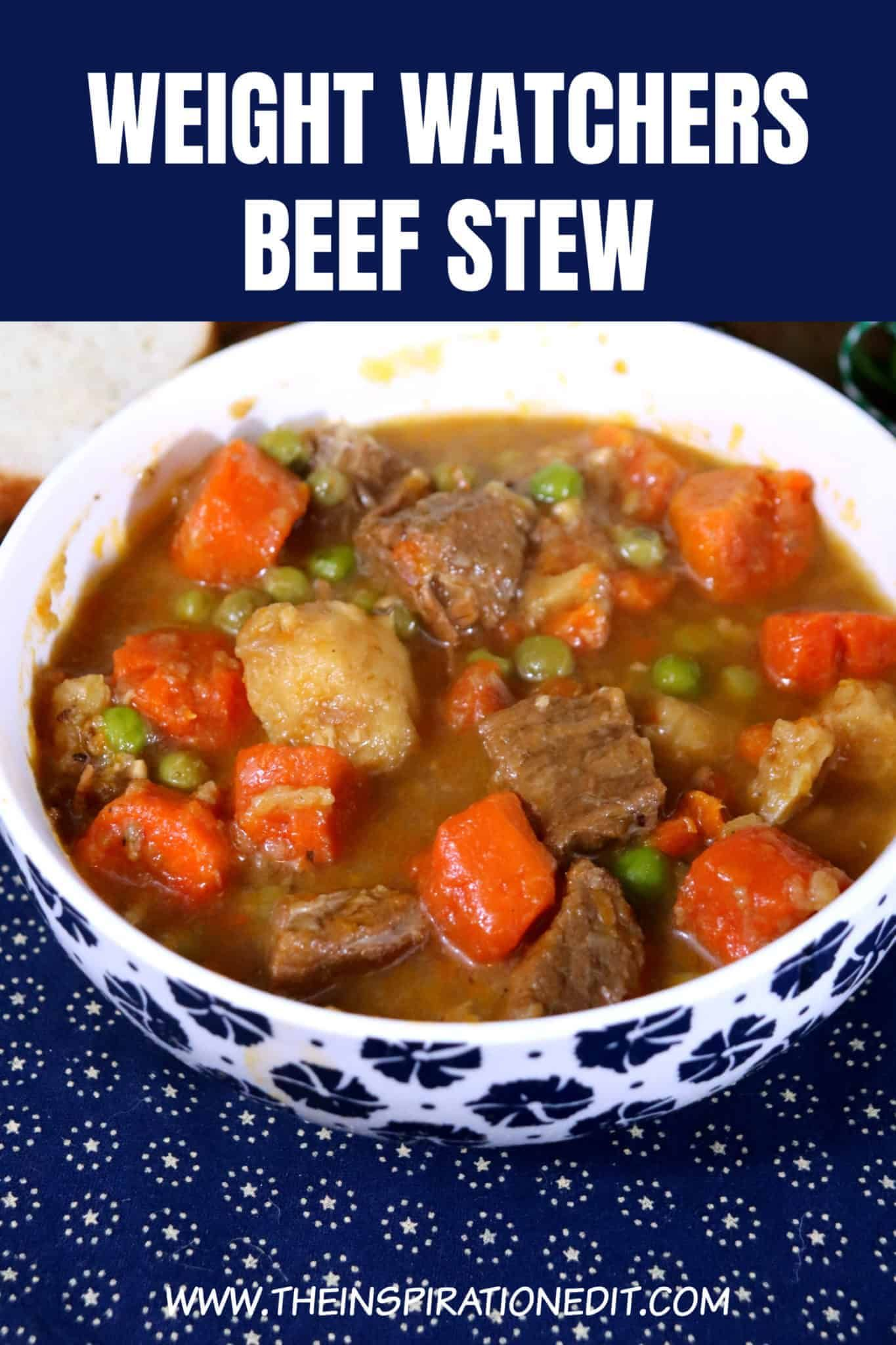 Photo of Weight Watchers Beef Stew In The Slow Cooker · The Inspiration Edit