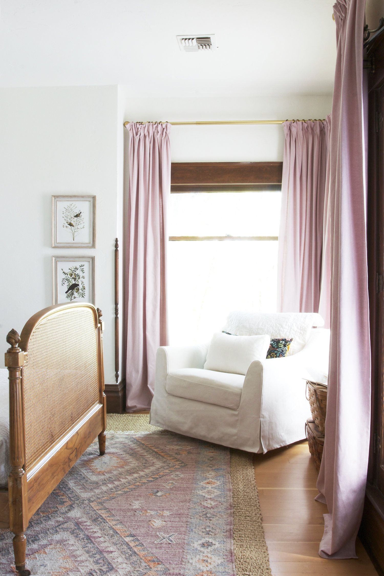 DIY Pinch Pleat Curtains // How to Make Budget IKEA ...