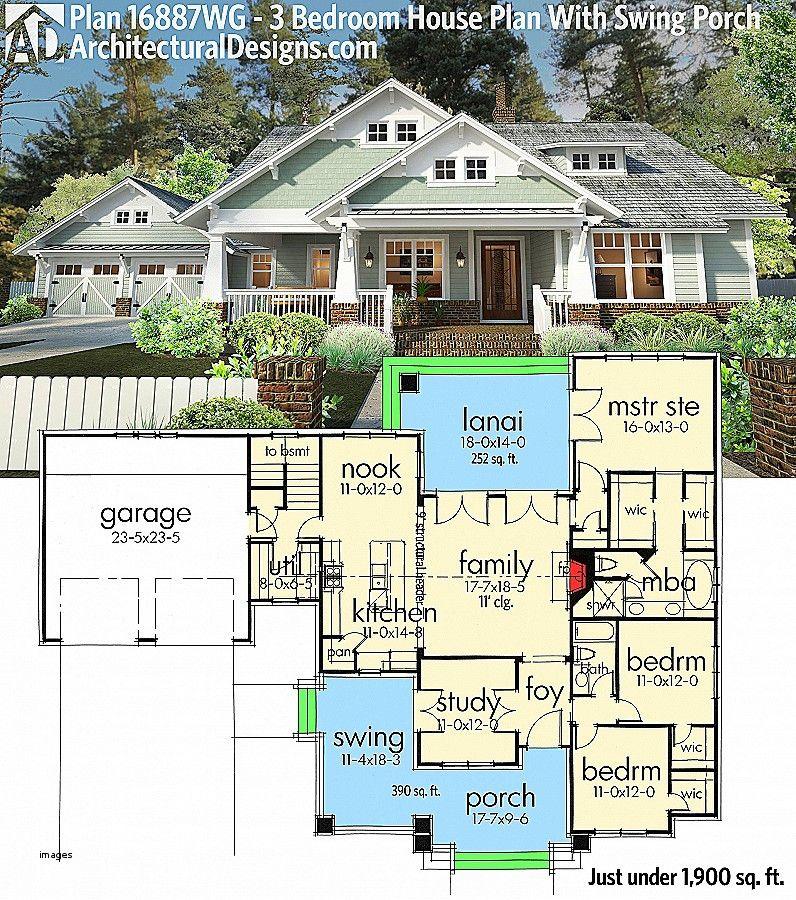 Best Of House Plans With Bonus Room Above Garage Architectural Design House Plans Craftsman House Plans New House Plans