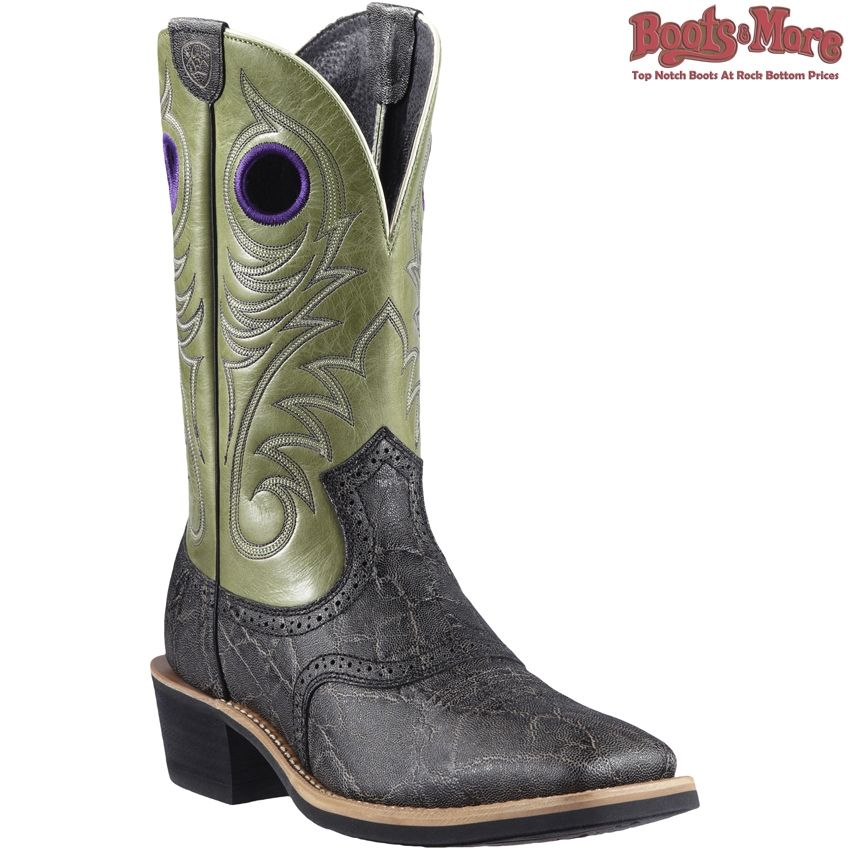 Mens Ariat (10011809) Mens Heritage Roughstock WST Western