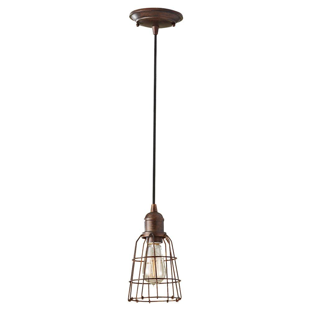 The Urbanite Wire Cage Pendant | Barn Light Electric   Over The Sinks In  Master Bath